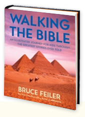 Walking the Bible - An Illustrated Journey for Kids Book Cover